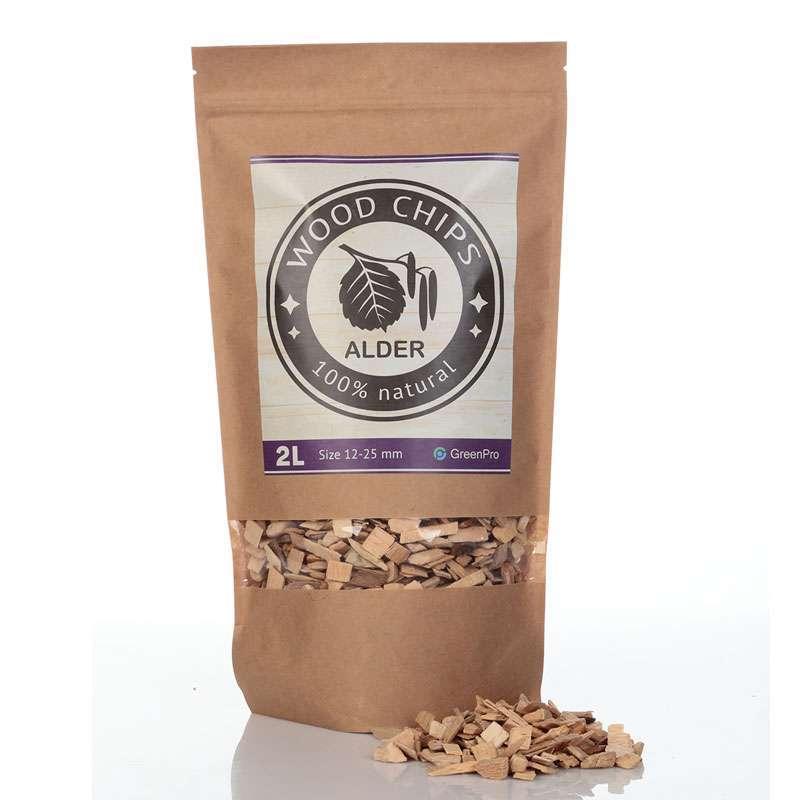 Alder wood chips litres zip