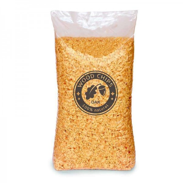 Oak Wood Chips 13 kg Bulk