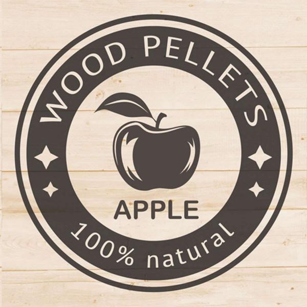 Apple Wood Pellets 1 litre Tube